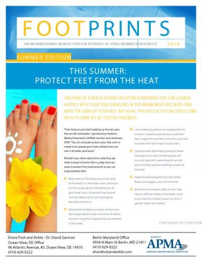 APMA_Footprints_SummerNewsletter