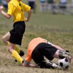 Fall 2017 FootNotes Patient Newsletter image of kids playing soccer